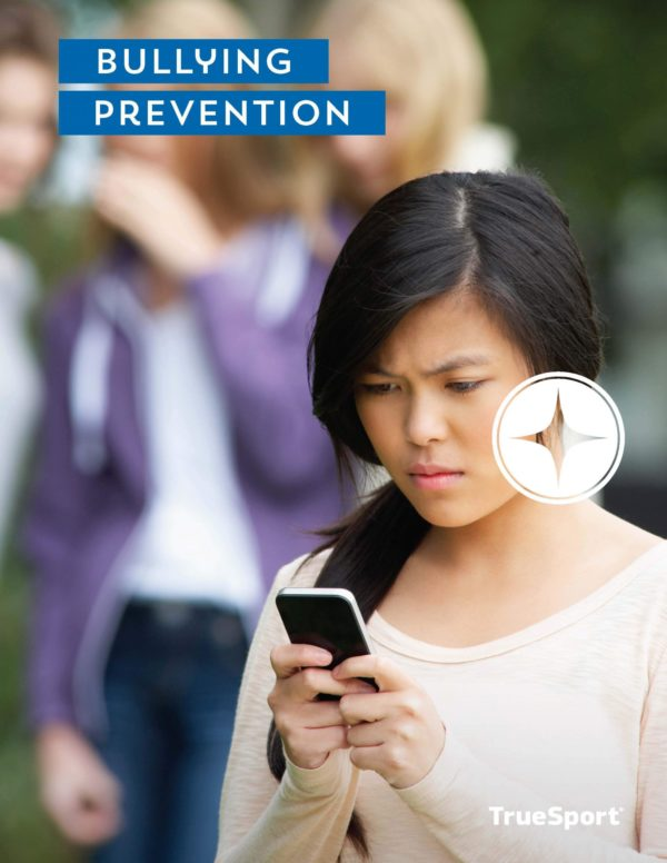 TrueSport bullying prevention lesson cover image.