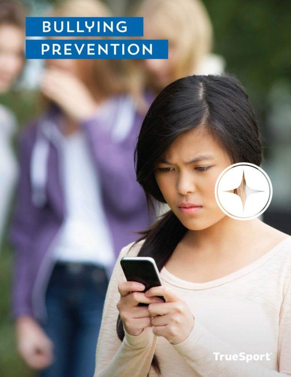 TrueSport bullying prevention lesson cover image.