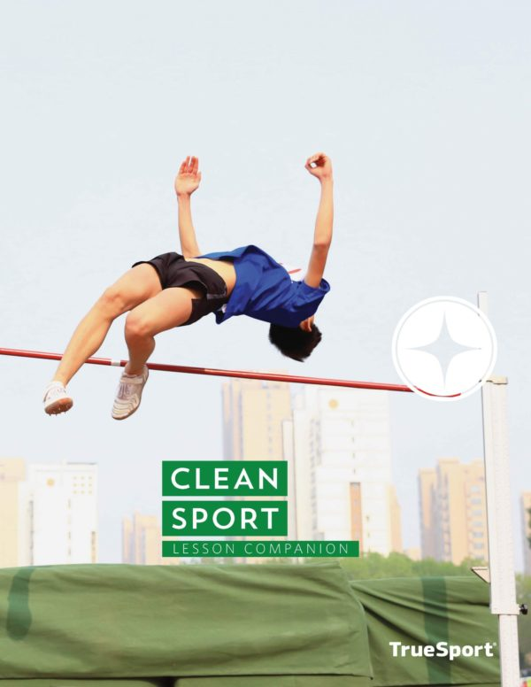 TrueSport clean sport lesson companion cover image.