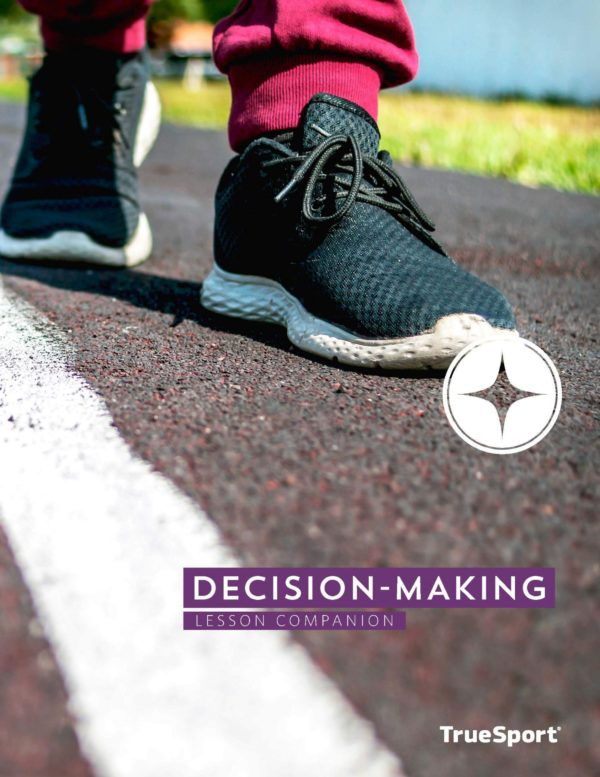 TrueSport decision-making lesson companion cover image.