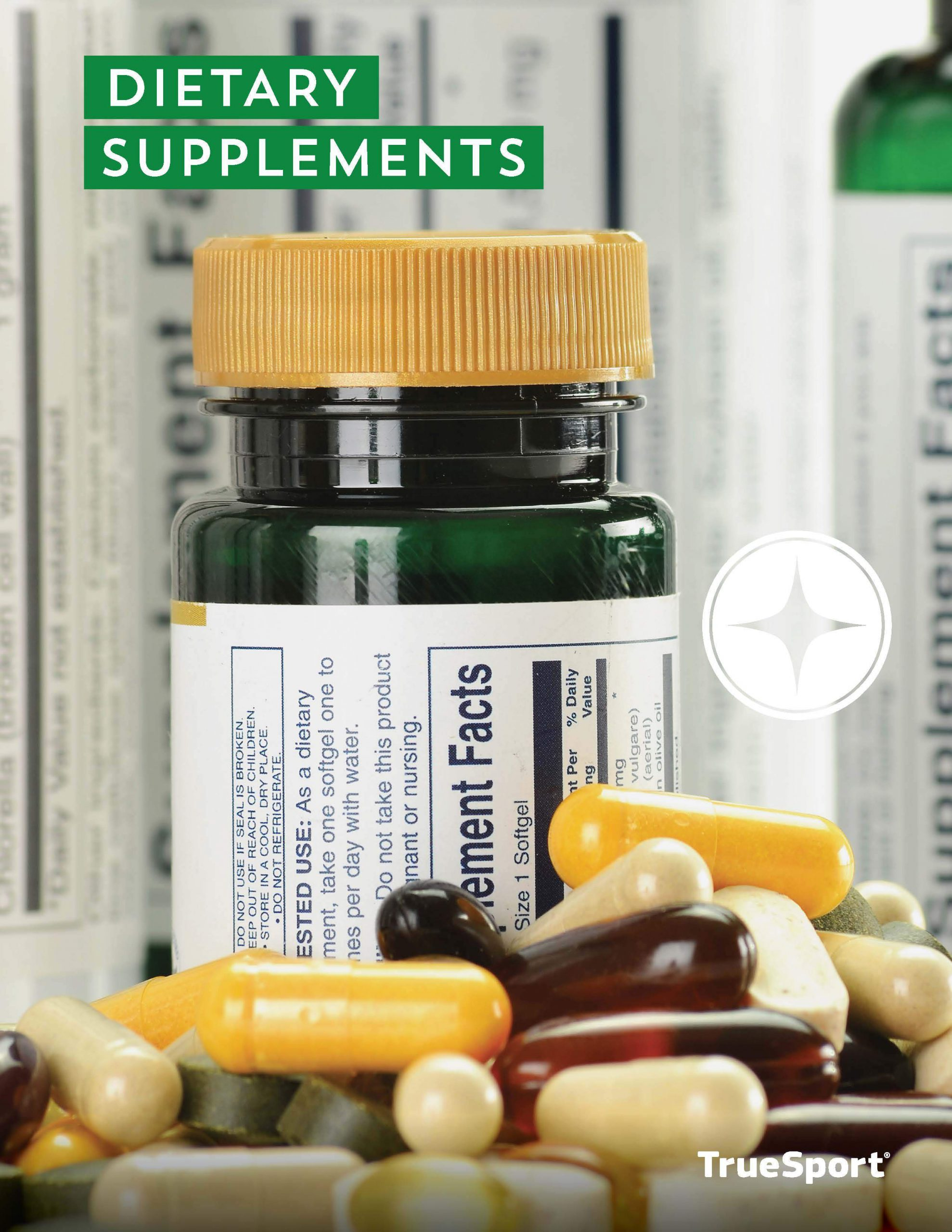 TrueSport Dietary supplements lesson cover image.