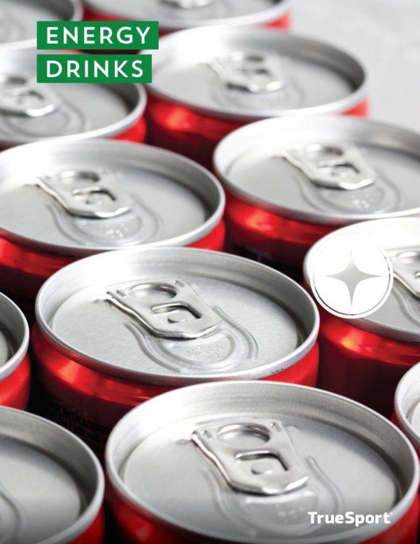 TrueSport energy drinks lesson cover image.