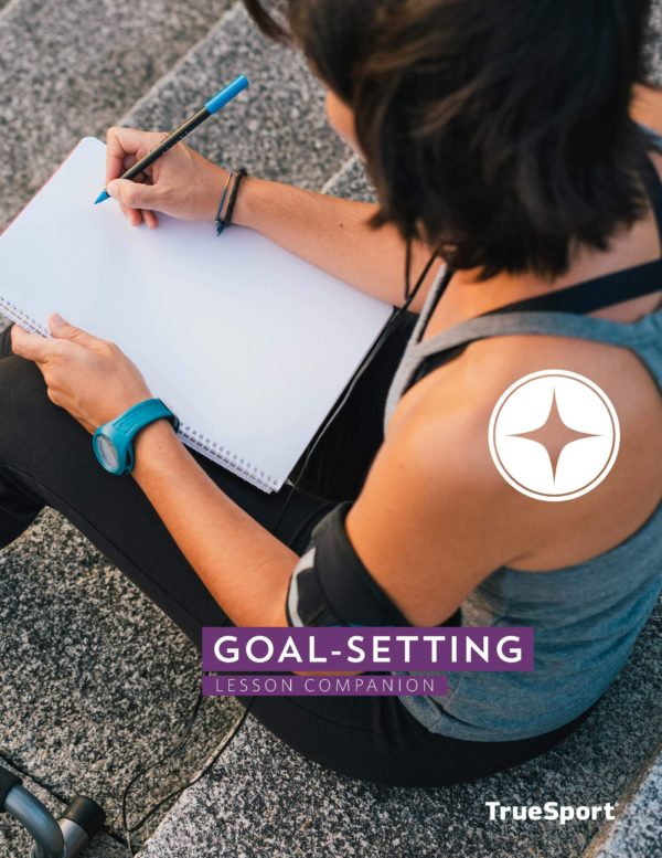 TrueSport goal-setting lesson companion cover image.