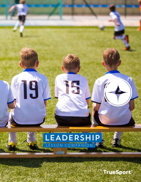 TrueSport leadership lesson companion cover image.