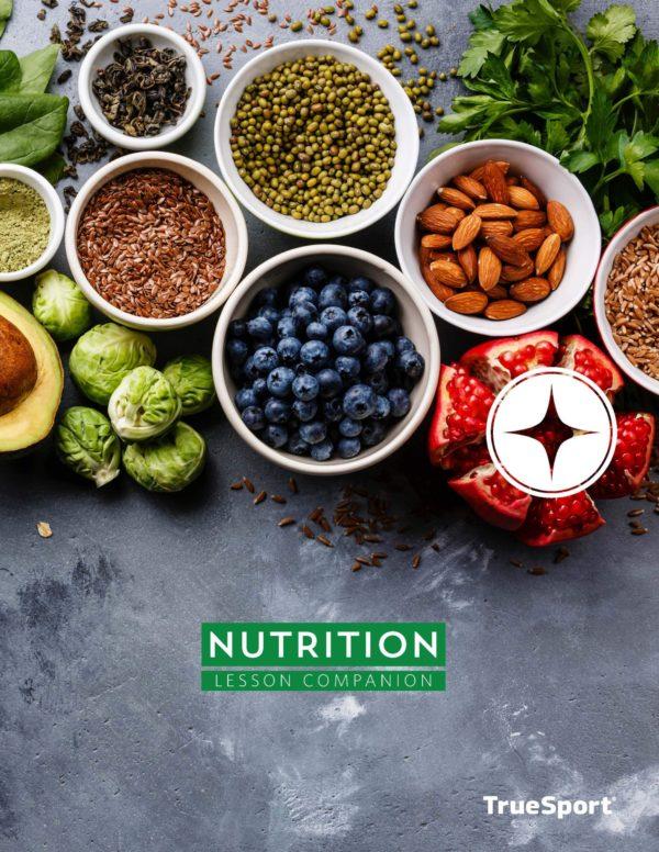 TrueSport nutrition lesson companion cover image.
