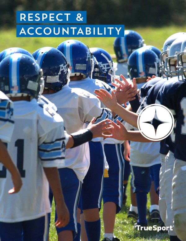 TrueSport respect and accountability lesson cover image.