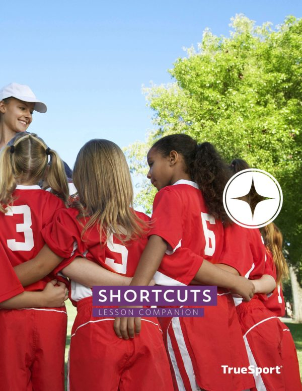 TrueSport shortcuts lesson companion cover image.