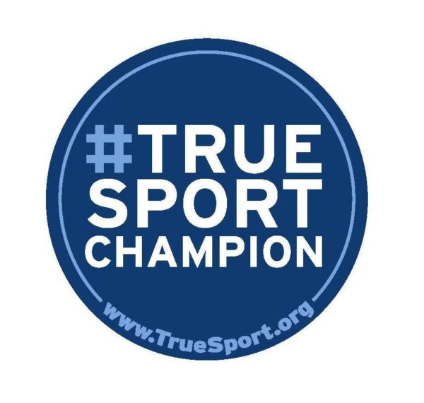 TrueSport champion sticker.