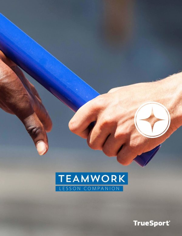 TrueSport teamwork lesson companion cover image.