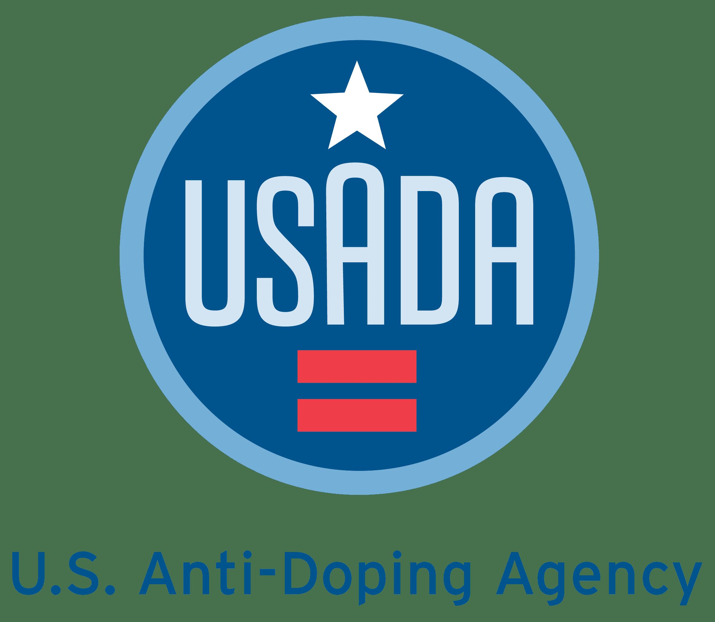 The U.S. Anti-Doping Agency logo.