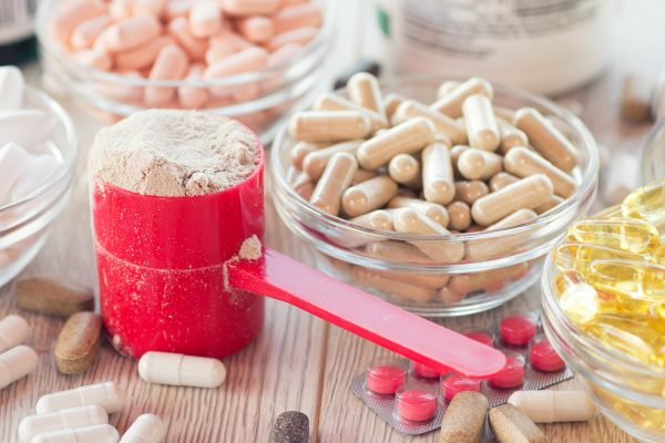 Powder and capsule dietary supplements.
