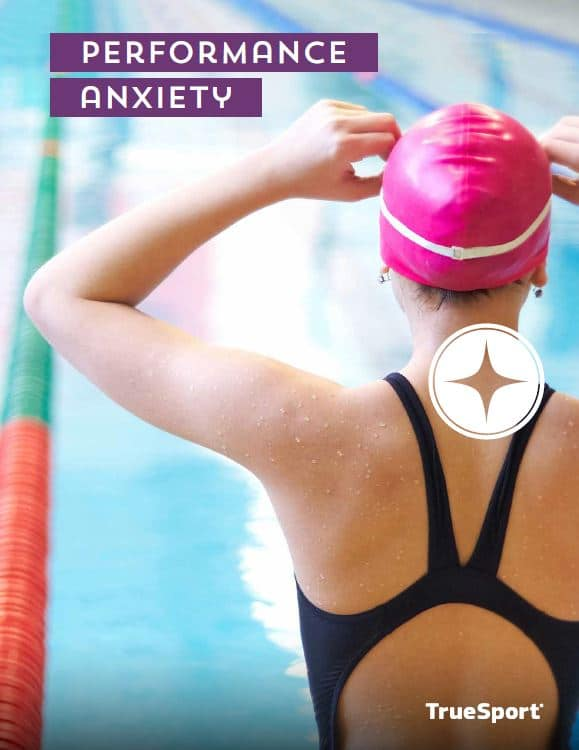 The TrueSport Performance Anxiety lesson cover.